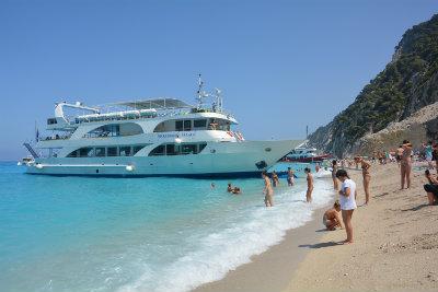 Lefkada Cruises Lefkas Cruises Makedonia Palace Seven Islands Cruises