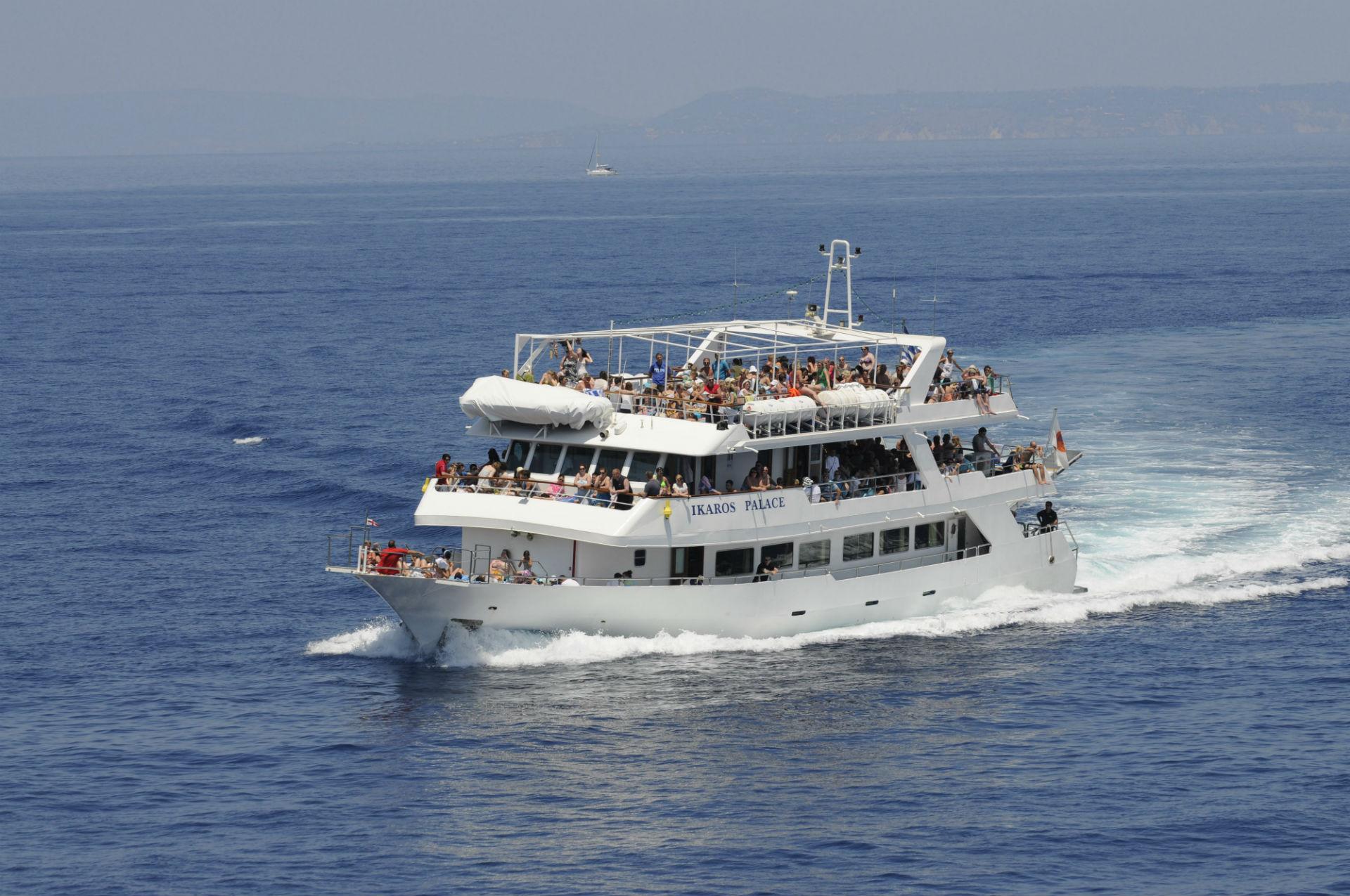 Ikaros Palace Zakynthos Daily Cruises Seven Islands Cruises Lefkas Cruises